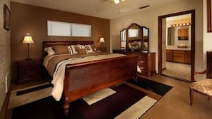 Premium bedding, WiFi