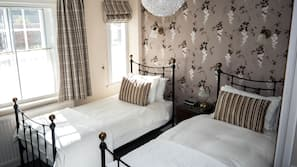 Premium bedding, cots/infant beds, free WiFi, alarm clocks