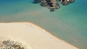 Private beach nearby, scuba diving
