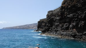Private beach nearby, snorkelling
