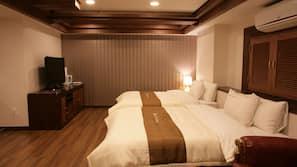 高級寢具、家具佈置各有特色、書桌、熨斗/熨衫板