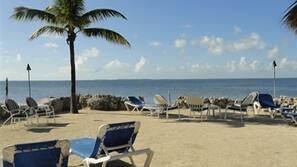 Private beach, kayaking