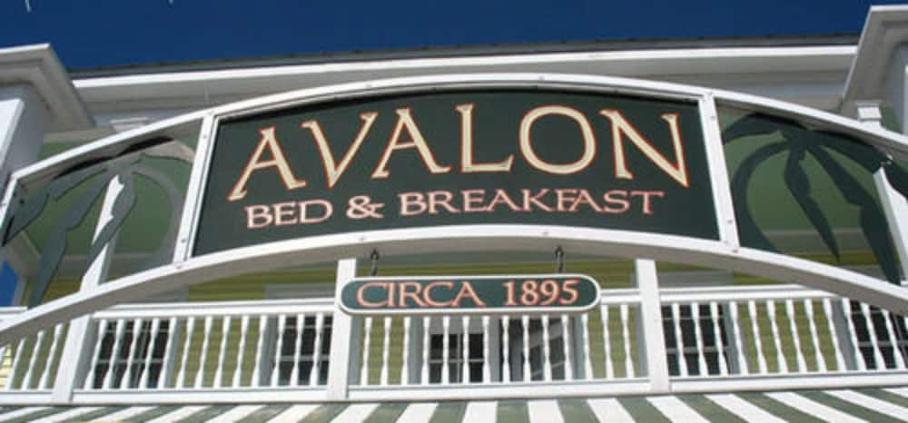 Exterior detail, Avalon Bed & Breakfast
