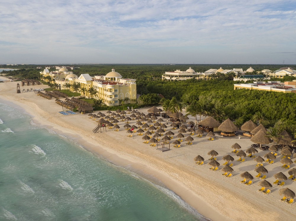 Aerial View, Iberostar Selection Paraiso Maya All Inclusive