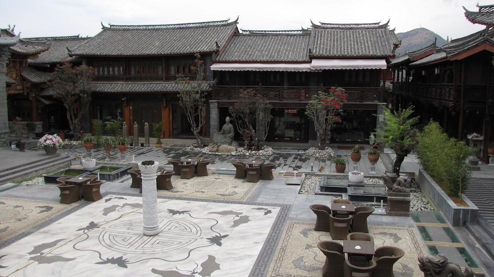 Terrace/Patio, Chateau Boutique Hotel - Lijiang
