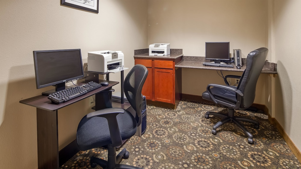 Business Center, Best Western Plus Fossil Country Inn & Suites