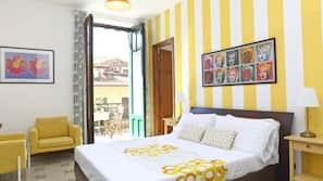 1 camera, copriletto in piuma, minibar, con stile personalizzato