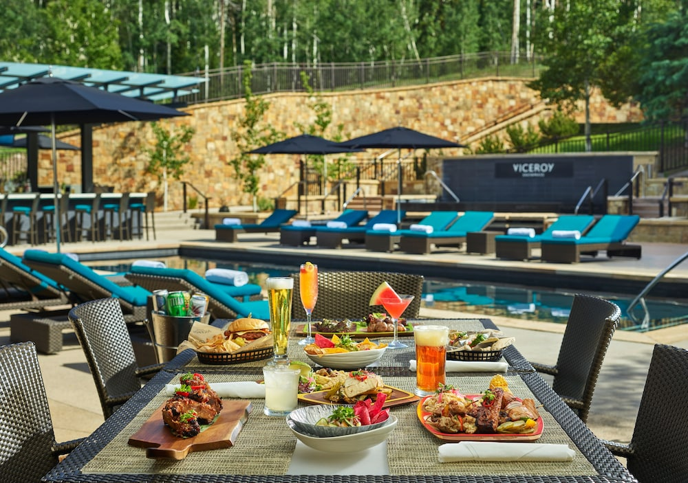 Outdoor Dining, Viceroy Snowmass