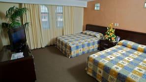 Caja fuerte, tabla de planchar con plancha, cunas o camas infantiles