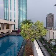 Zwembad op dak
