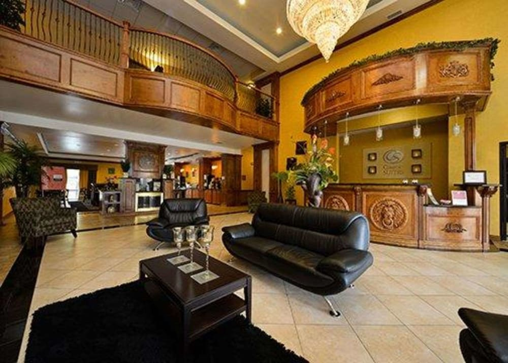 Lobby, Comfort Suites Bay City