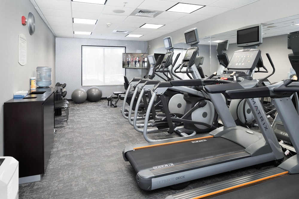 Fitness Facility, Fairfield Inn & Suites South Boston