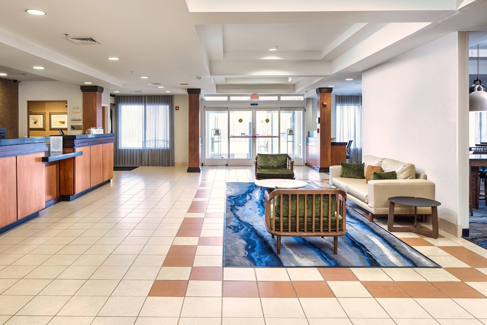 Lobby, Fairfield Inn & Suites South Boston