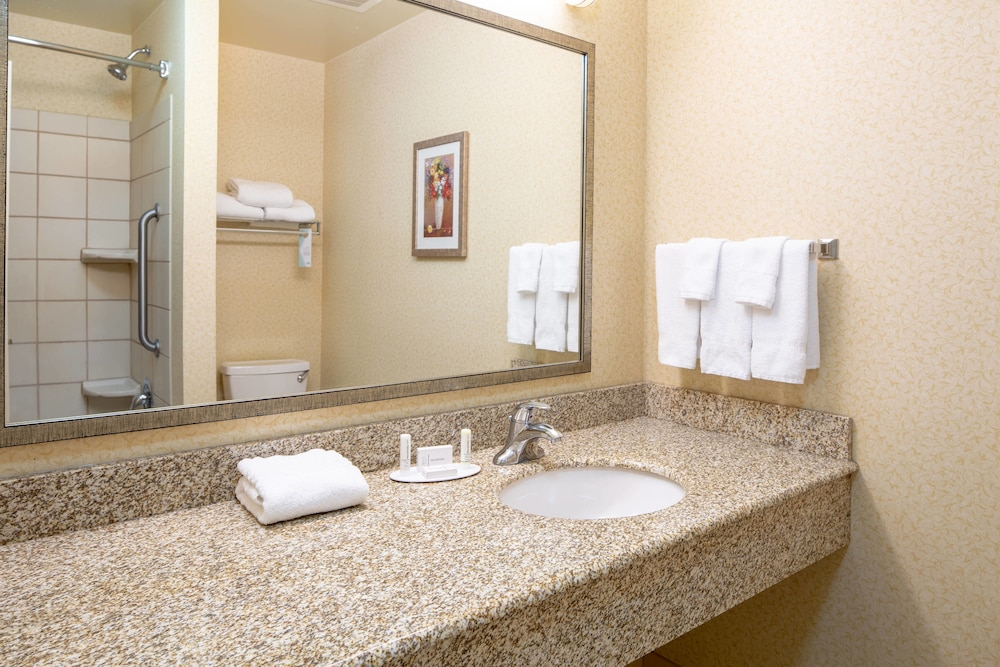 Bathroom, Fairfield Inn & Suites South Boston