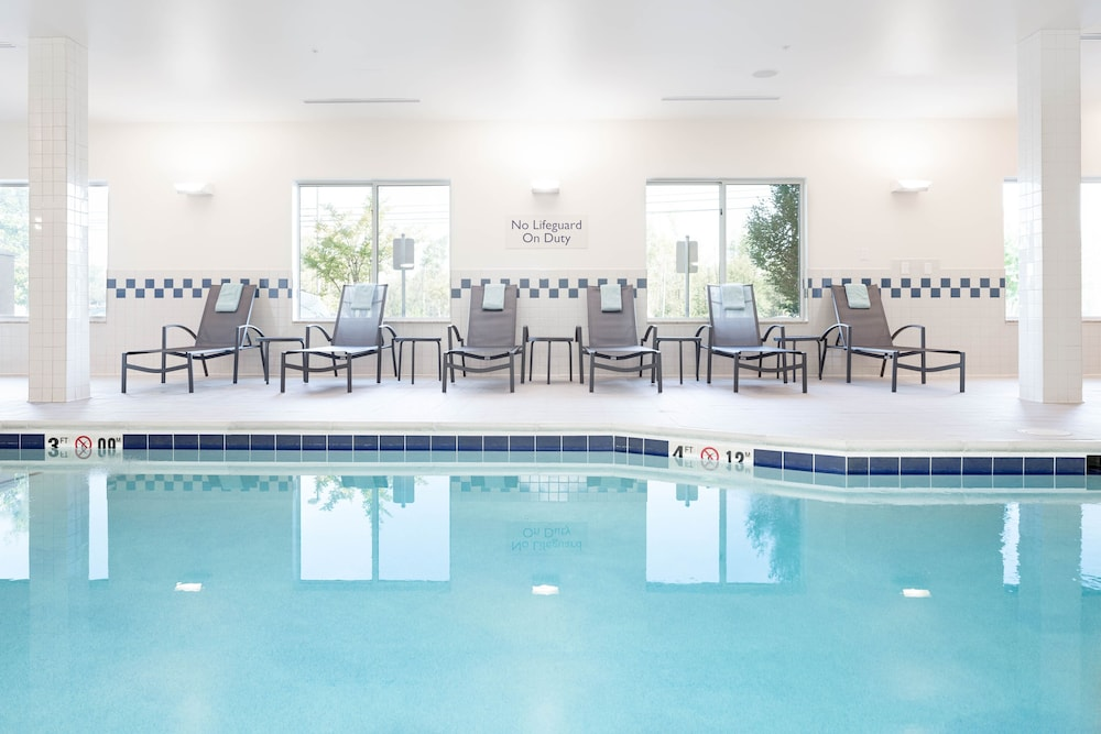Indoor Pool, Fairfield Inn & Suites South Boston