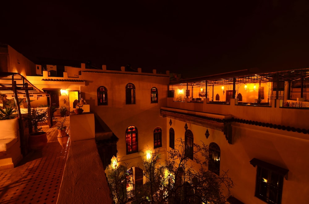 Courtyard, Riad Le Calife