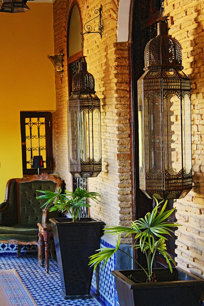 Interior Detail, Riad Le Calife