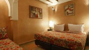 고급 침구, 각각 다른 스타일의 객실, 책상, 무료 유아용 침대