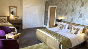 Select Comfort beds, desk, iron/ironing board, free WiFi