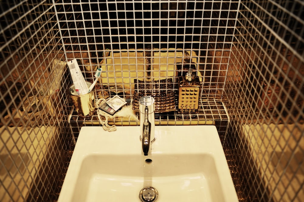 Bathroom Sink, Michelberger Hotel Berlin