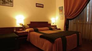 1 多间卧室、高档床上用品、记忆海绵床垫、保险箱