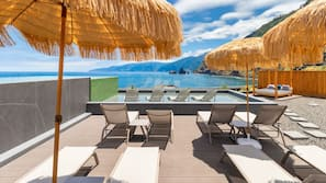 Indoor pool, outdoor pool, open 8:00 AM to 11:00 PM, pool umbrellas