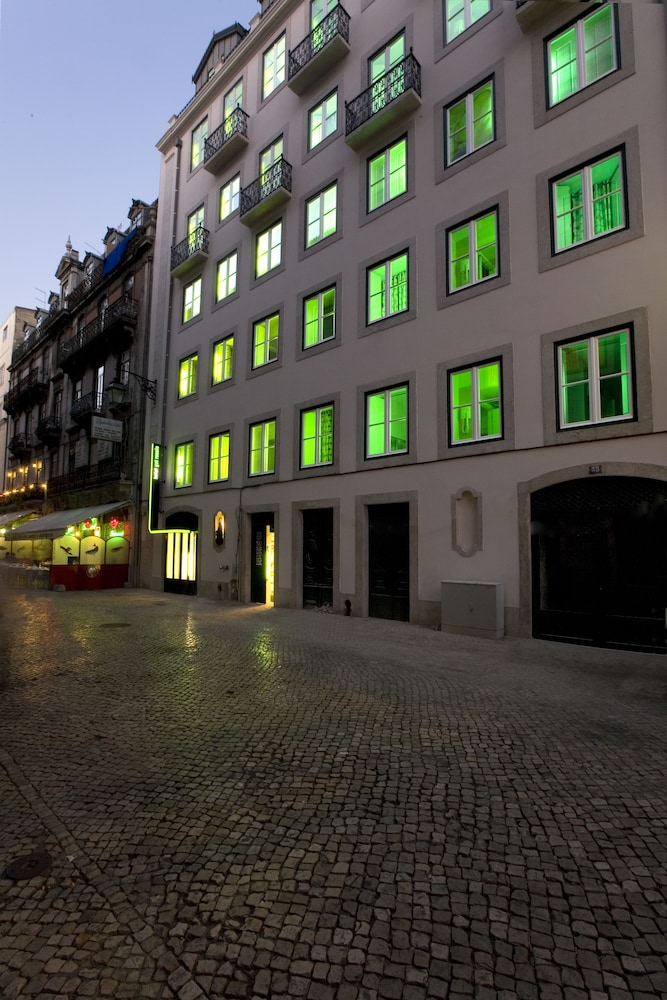 Front of Property - Evening/Night, Hotel Gat Rossio