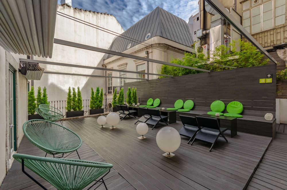Terrace/Patio, Hotel Gat Rossio
