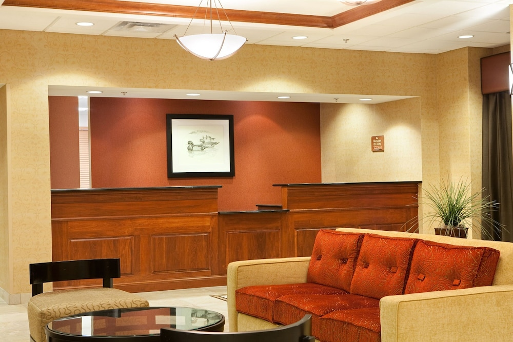 Lobby, Homewood Suites by Hilton St. Cloud