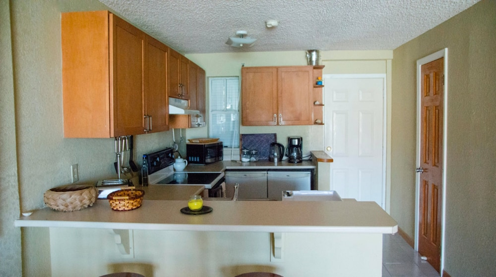 Private Kitchen, HBK Villa Rentals at Jolly Harbour