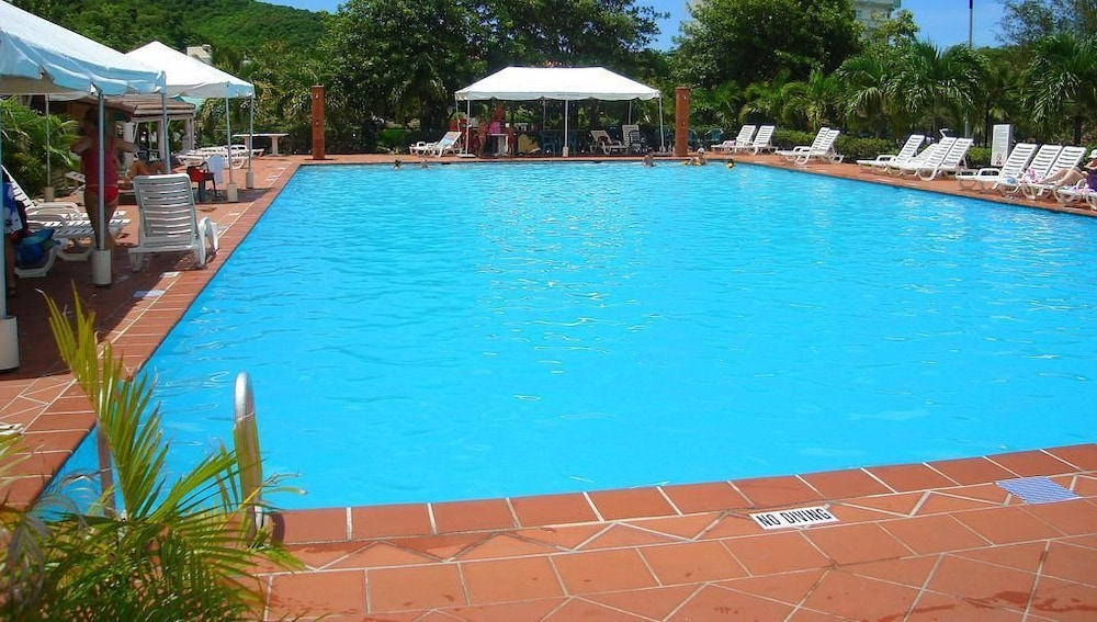 Pool, HBK Villa Rentals at Jolly Harbour