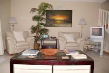 Living Area, HBK Villa Rentals at Jolly Harbour