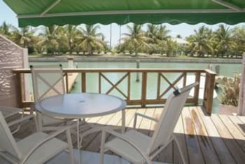 Terrace/Patio, HBK Villa Rentals at Jolly Harbour