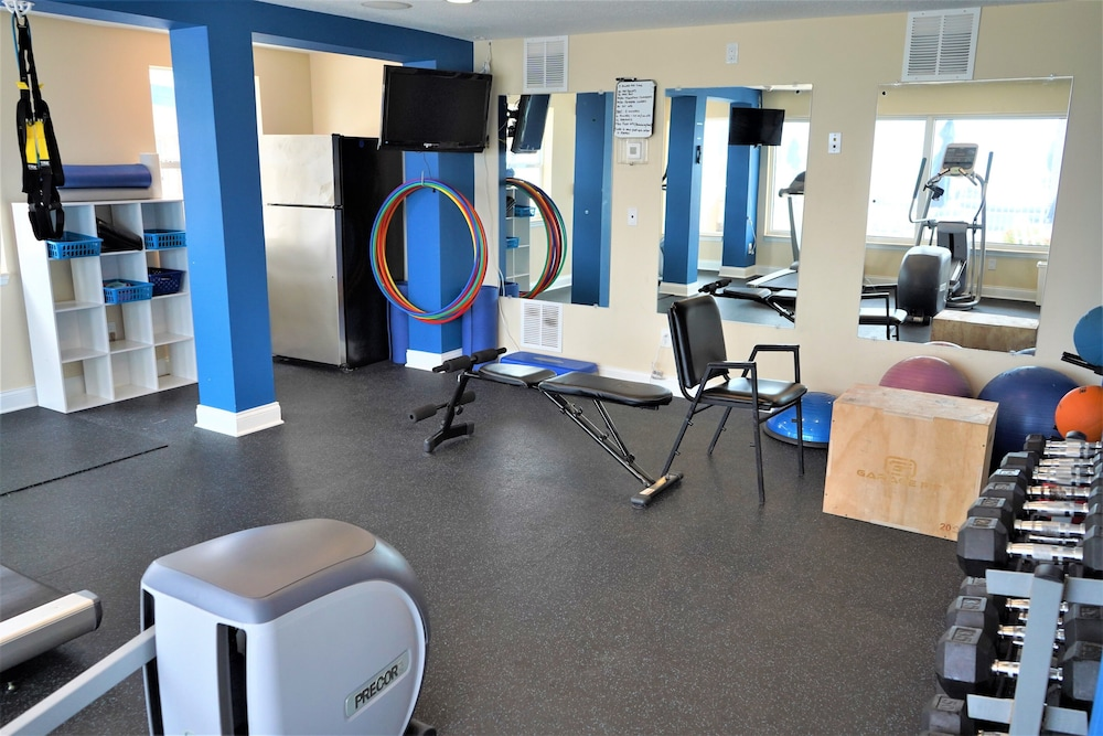 Gym, Glunz Ocean Beach Hotel & Resort