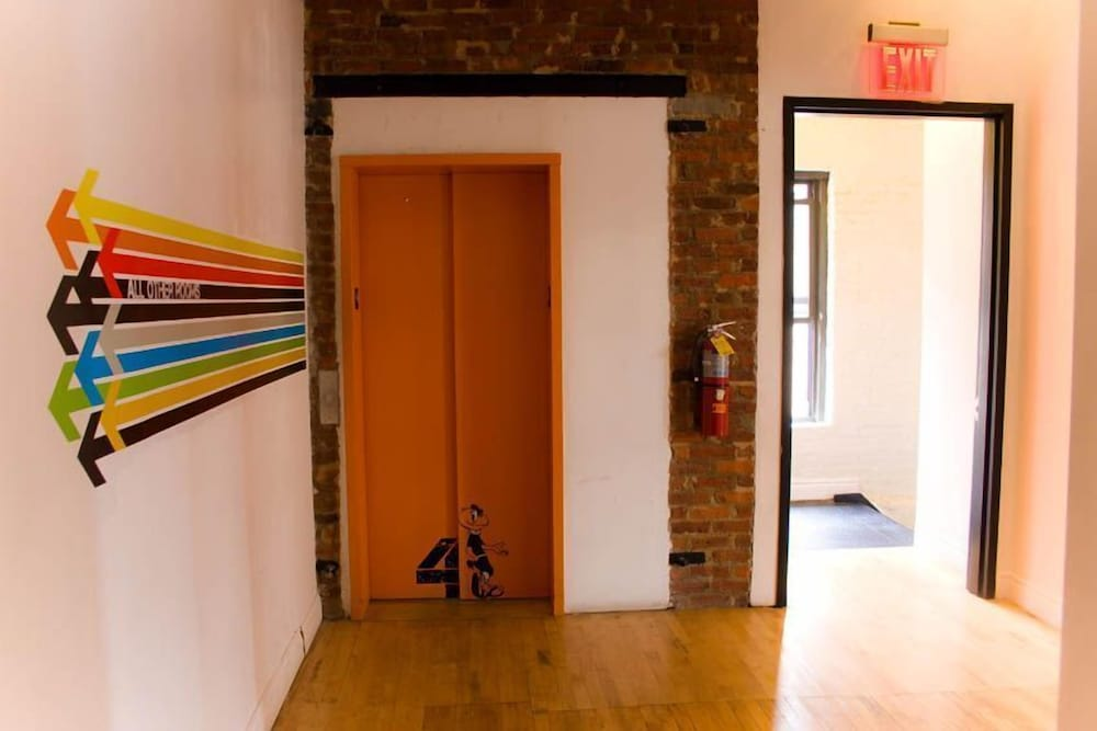 Interior, The New York Loft Hostel