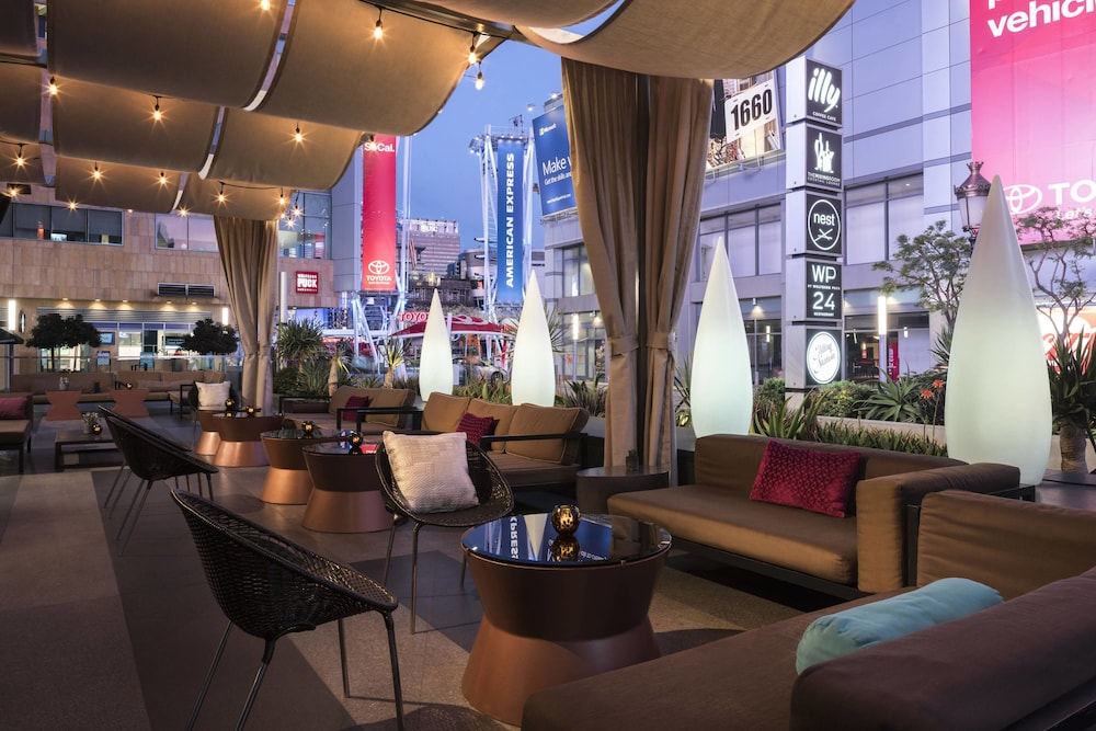 Terrace/Patio, JW Marriott Los Angeles L.A. LIVE