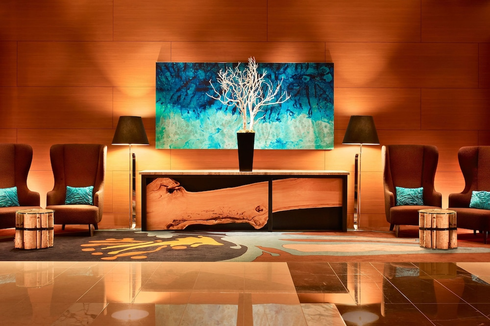Lobby, JW Marriott Los Angeles L.A. LIVE