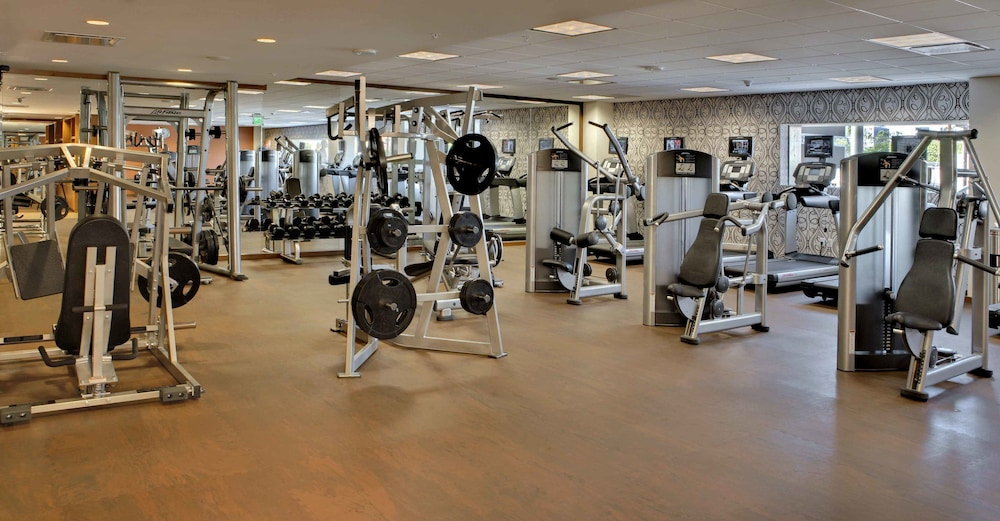 Fitness Facility, JW Marriott Los Angeles L.A. LIVE