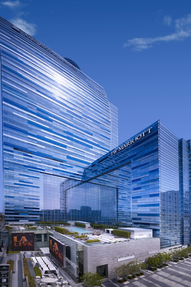 Exterior, JW Marriott Los Angeles L.A. LIVE