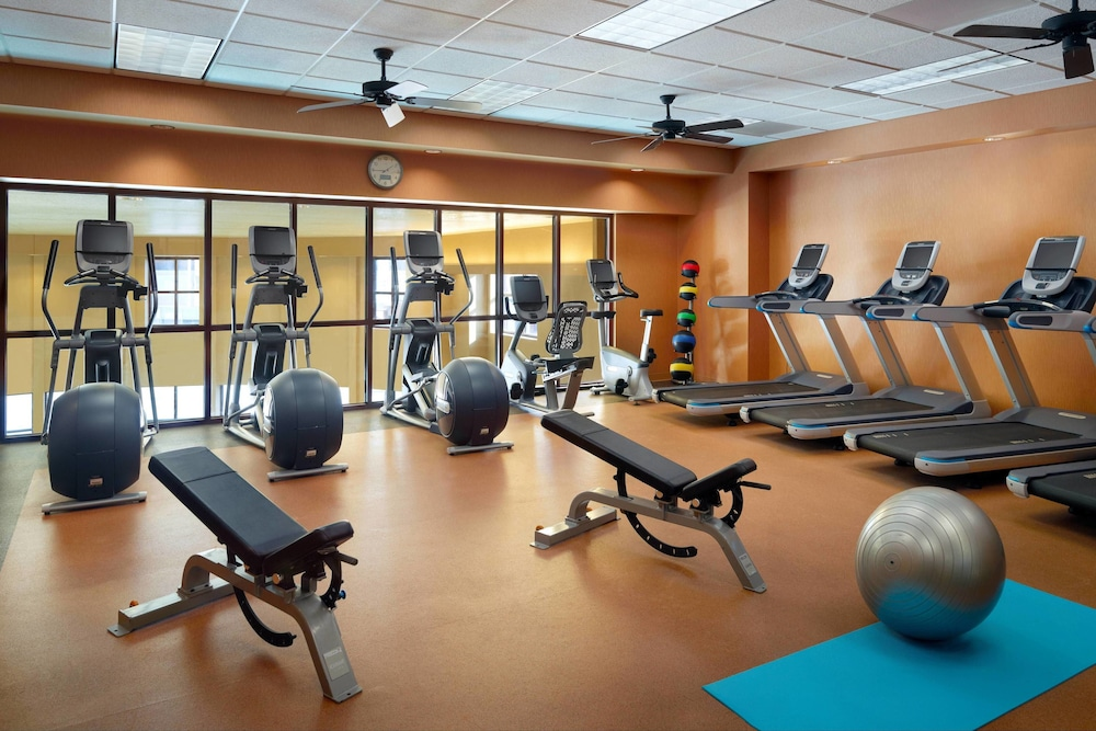 Fitness Facility, Bloomington-Normal Marriott Hotel & Conference Center