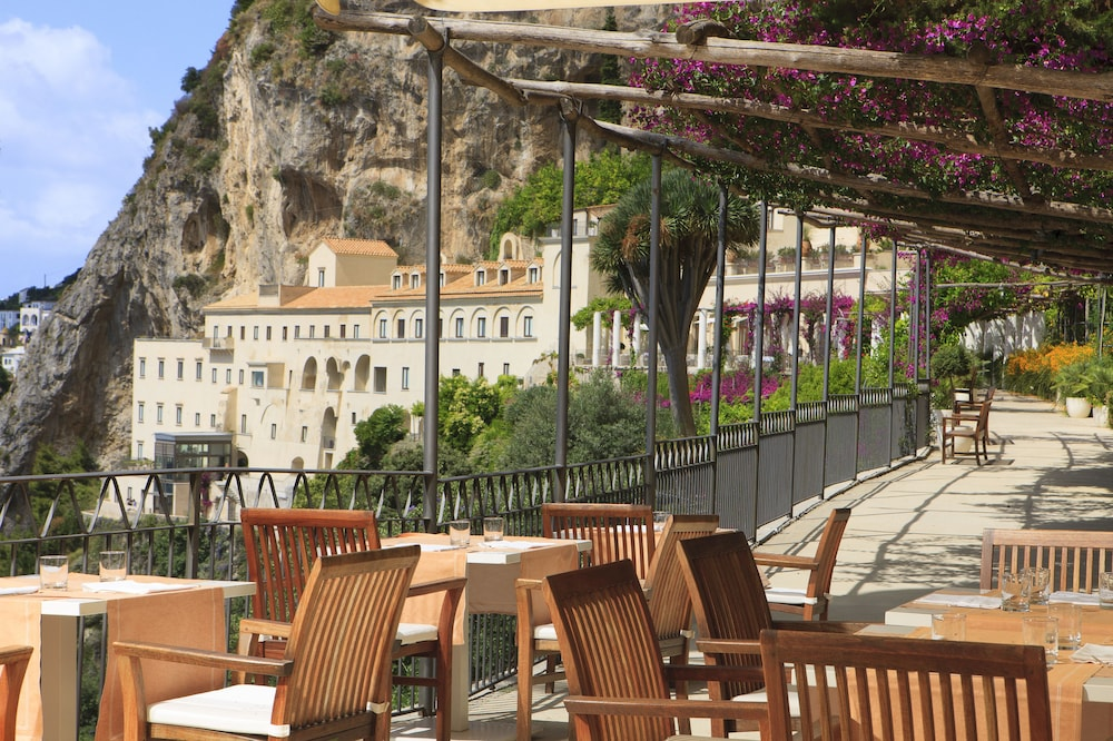 Outdoor Dining, NH Collection Grand Hotel Convento di Amalfi