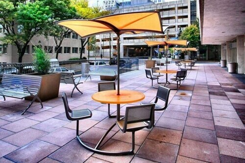 Terrace/Patio, Hilton Garden Inn Bethesda
