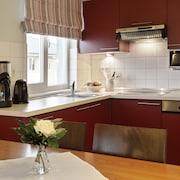 Küche im Zimmer