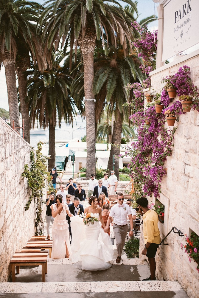 Outdoor Wedding Area, Hotel Park Hvar