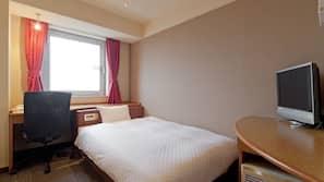 셀렉트 컴포트 침대, 객실 내 금고, 책상, 암막 커튼