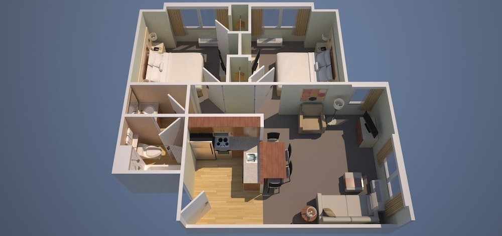 Floor plan, TownePlace Suites by Marriott Goodyear