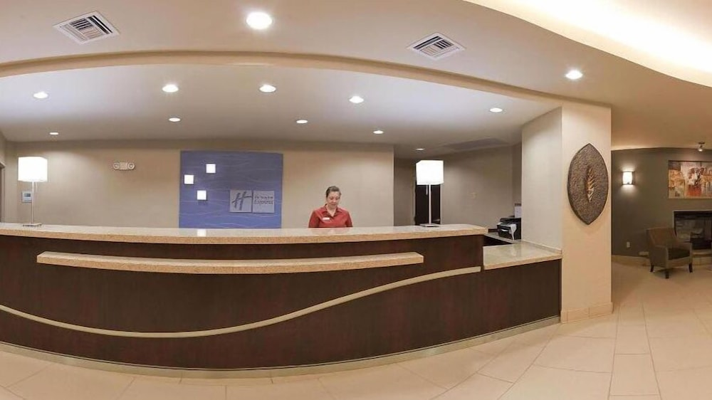 Reception, Holiday Inn Express Hotel & Suites Zanesville North