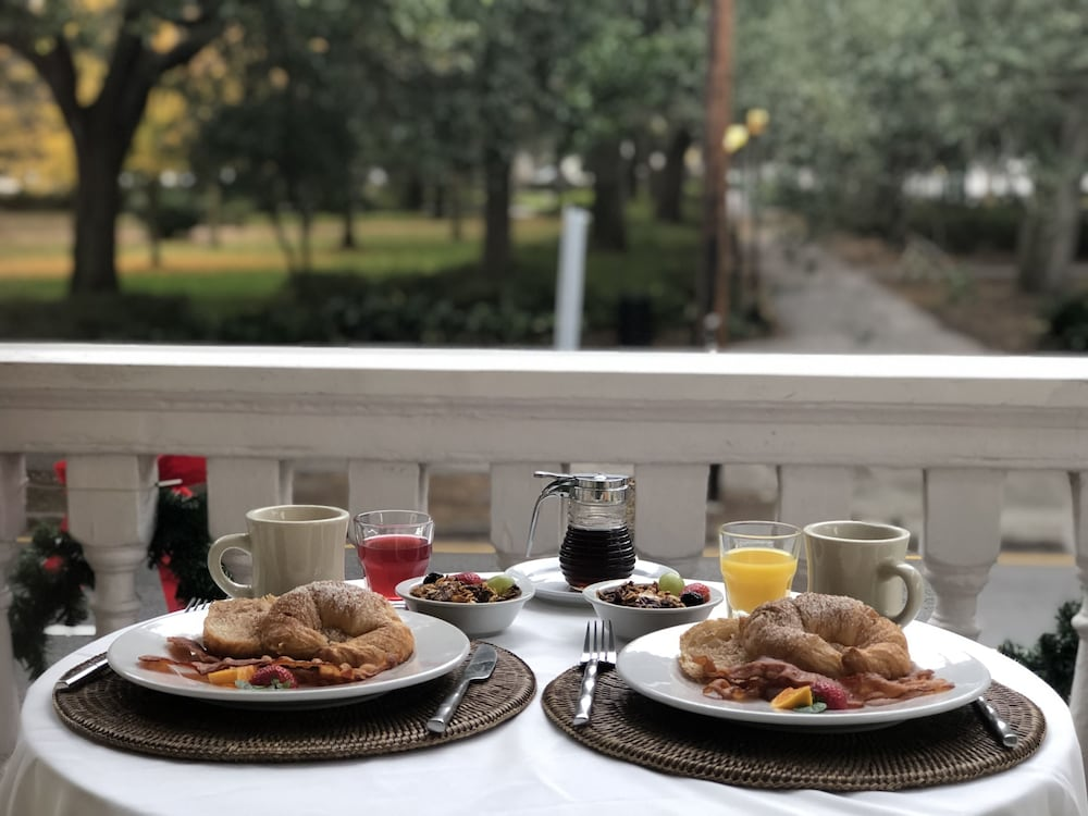 Breakfast Meal, Forsyth Park Inn