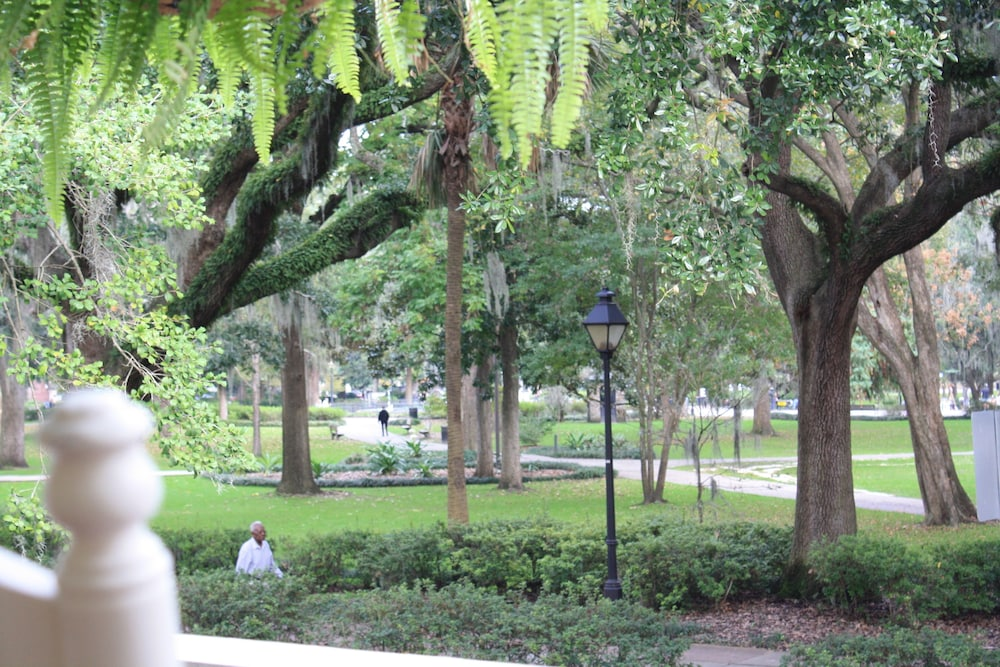 Terrace/Patio, Forsyth Park Inn