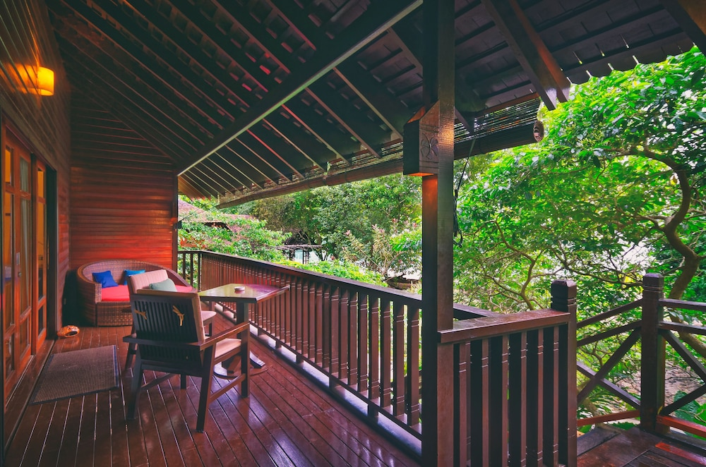 Terrace/Patio, Bunga Raya Island Resort & Spa